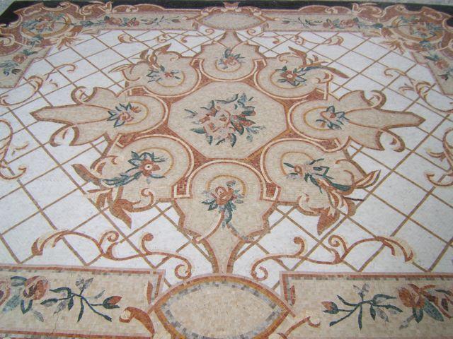 Mozaikový koberec