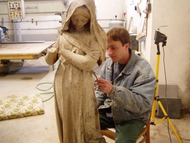 Renovace sochy