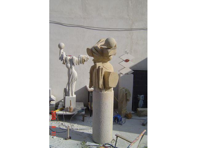 Pískovcové sochy