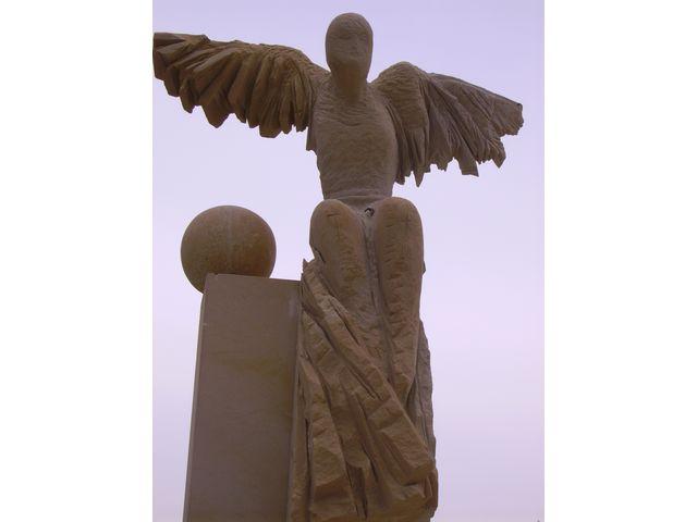 Socha anděl