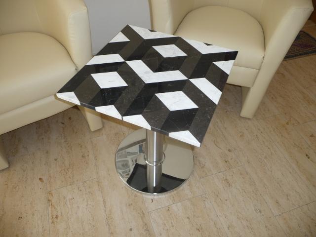 3 D stolek